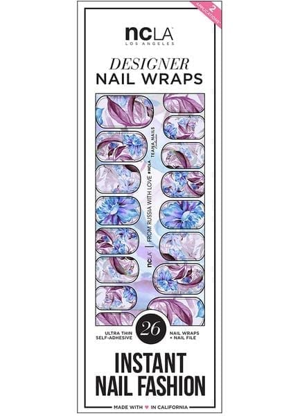 96afbb862e6 NCLA Nail Wraps - FROM RUSSIA WITH LOVE - Cosmetology Online Store ...