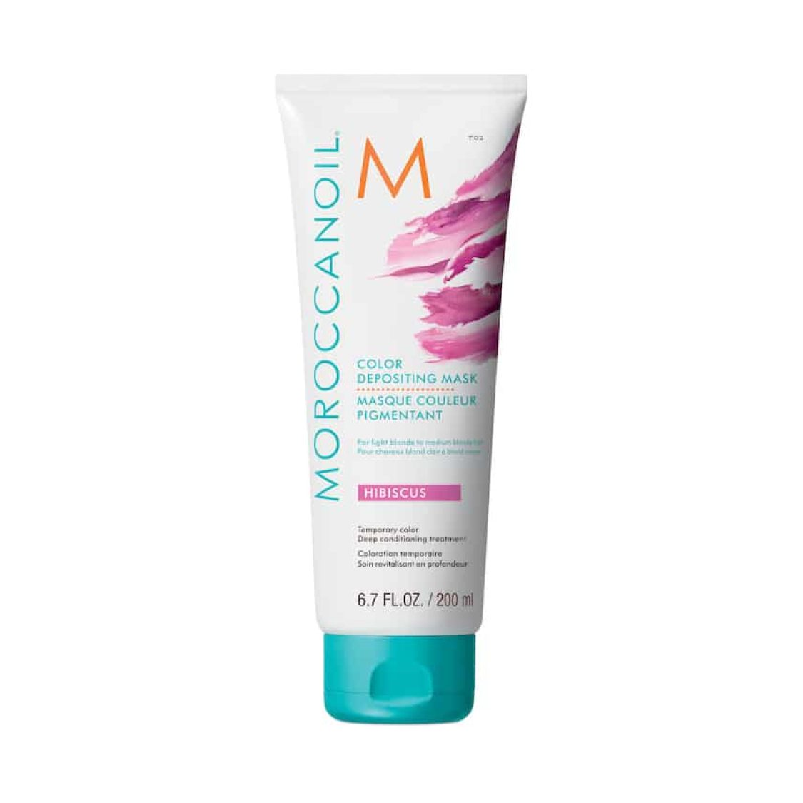 Moroccan Oil  - Moroccanoil Color Deposit Mask Hibiscus 200ml