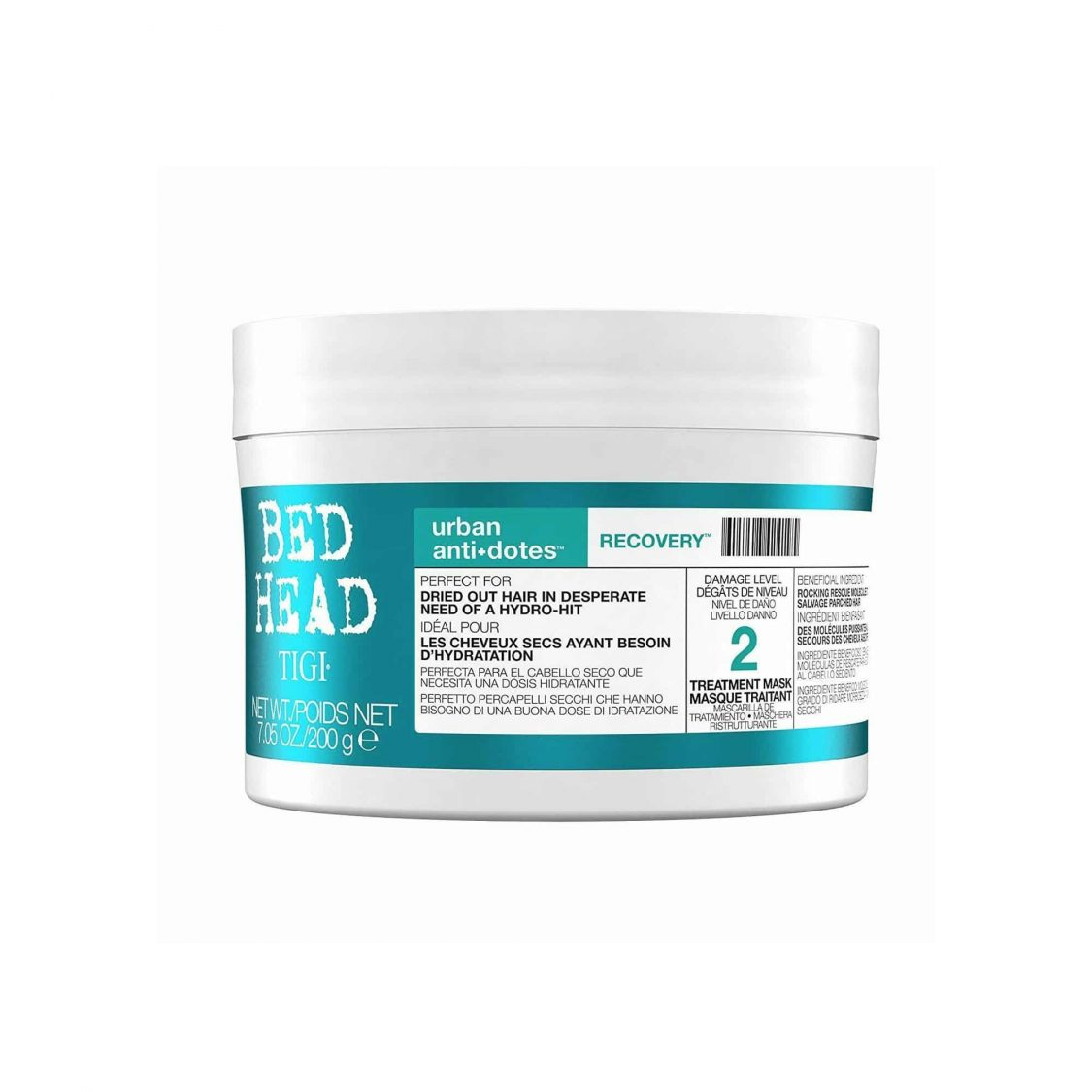 TIGI - Bed Head - Recovery treatment mask 200ml