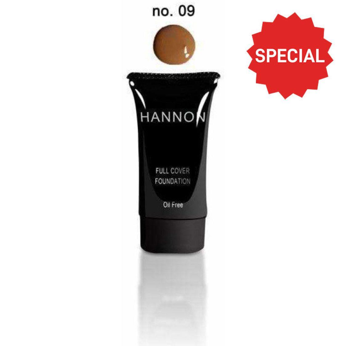 Hannon - Full Cover Liquid Foundation No.9