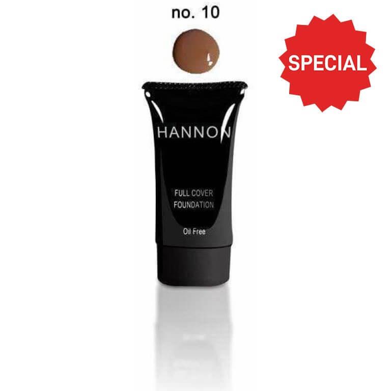 Hannon - Full Cover Liquid Foundation No.10