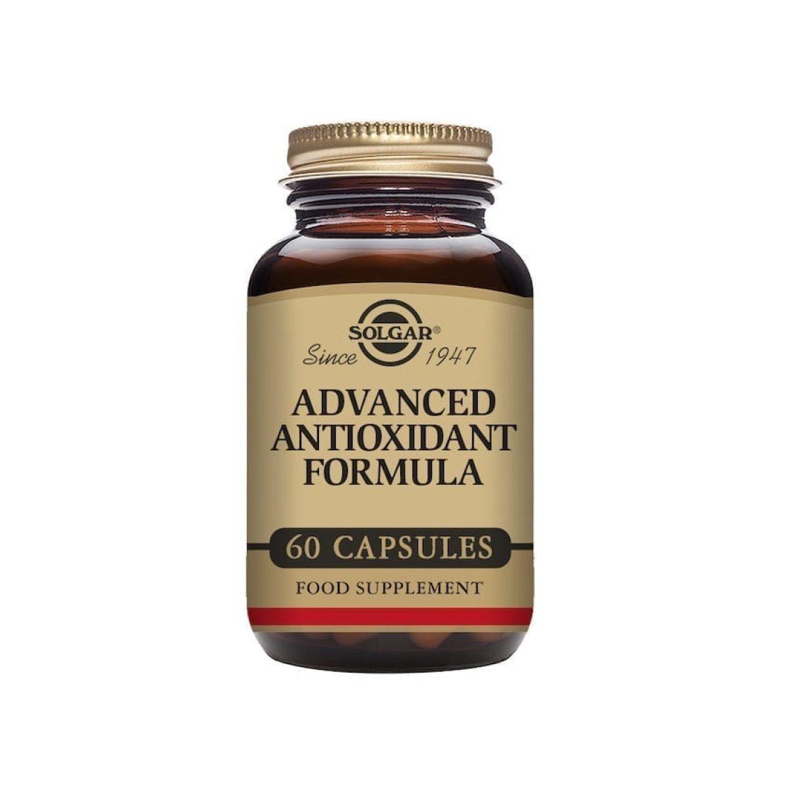 Solgar - Antioxidants  - Advanced Antioxidant Formula Vegicaps - Size: 60