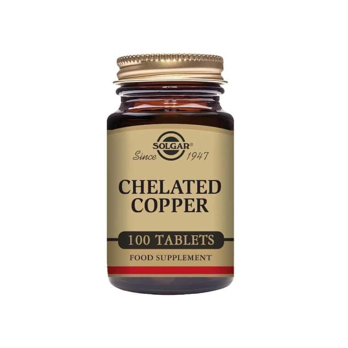 Solgar - Minerals  - Chelated Copper Tabs - Size: 100