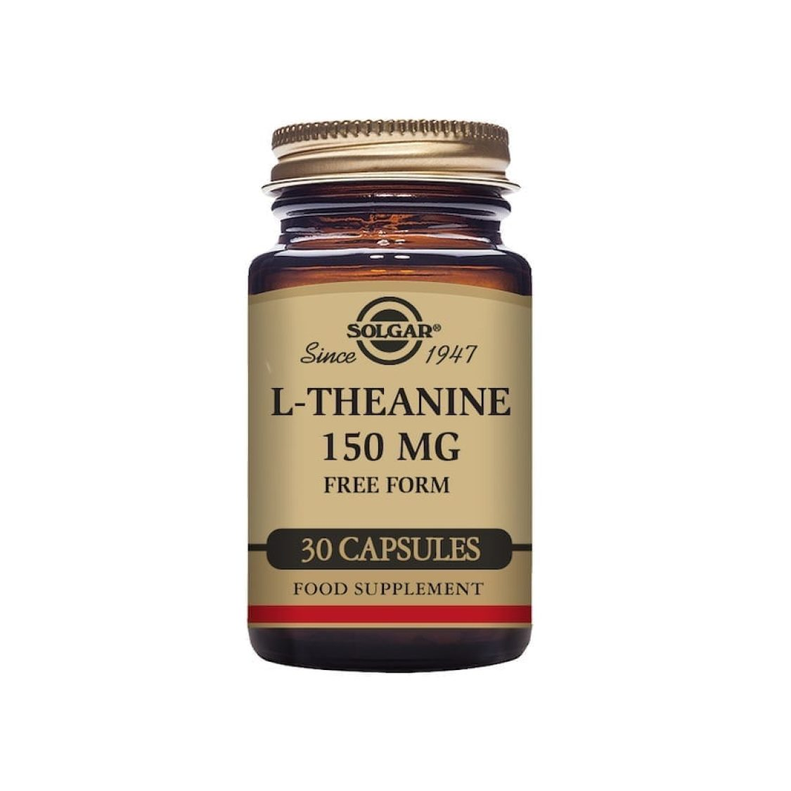Solgar - Free Form Amino Acids - L-Theanine  - Size: 30