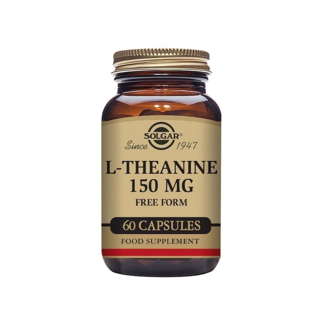 Solgar - Free Form Amino Acids - L-Theanine   - Size: 60