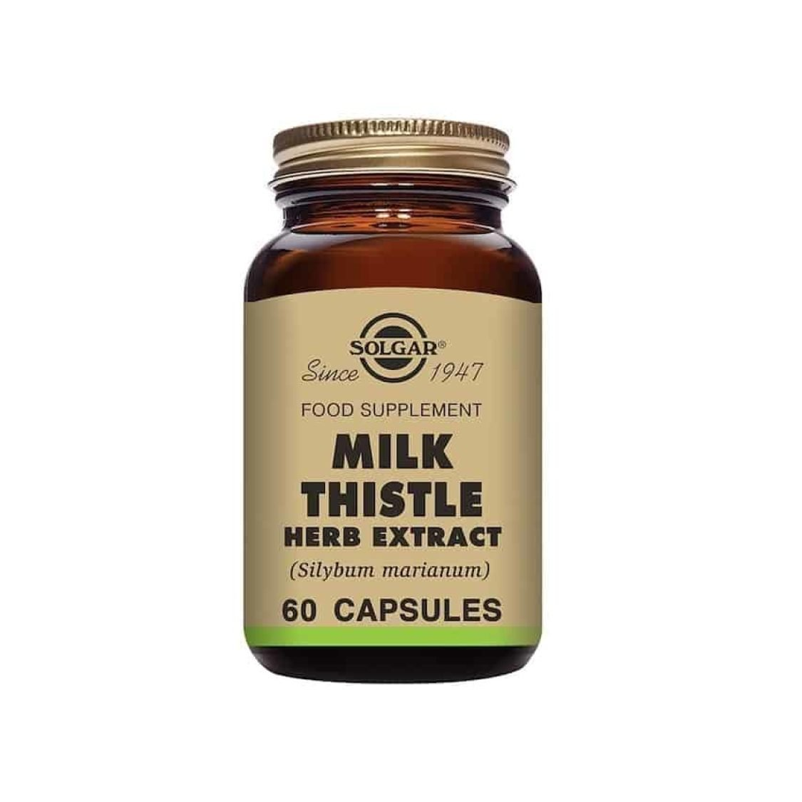 Solgar - Herbal Products - Milk Thistle Herb Extract Vegicaps - Size: 60