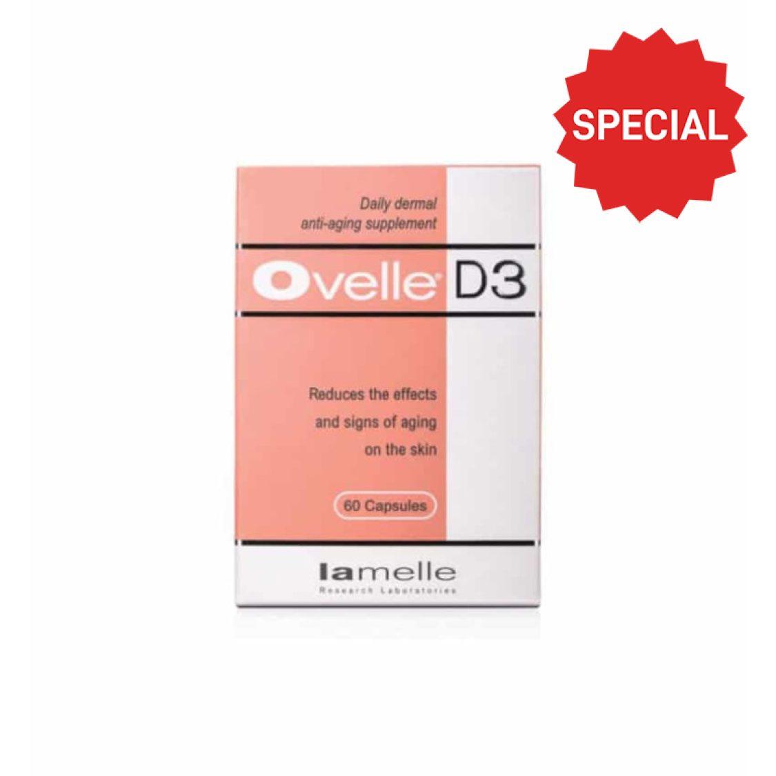 Lamelle - Ovelle®D3 60 capsules