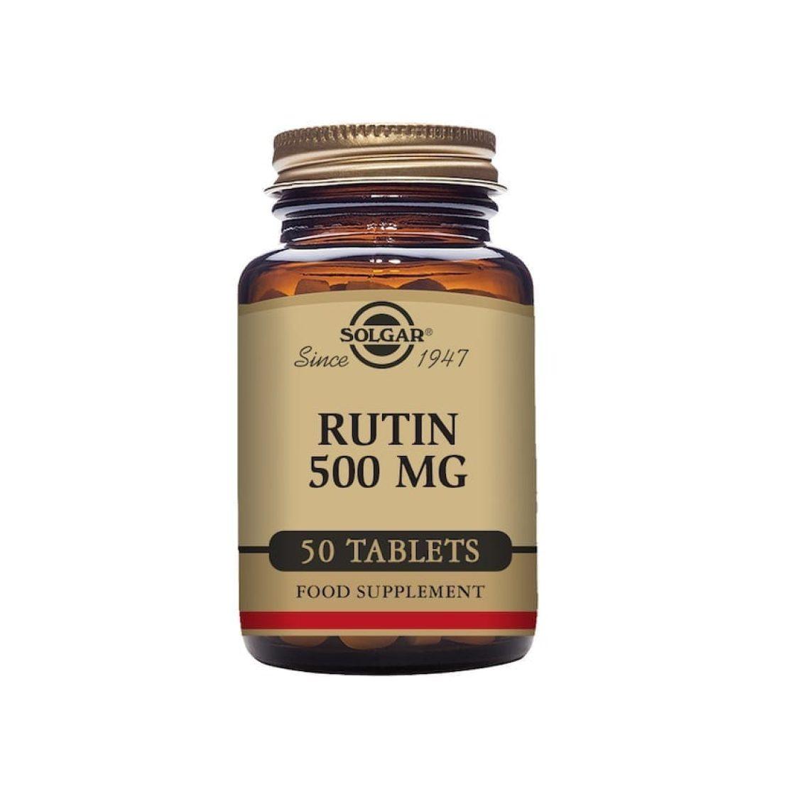 Solgar - Vitamin C / Bioflavonoids - Rutin 500mg Tabs - Size: 50