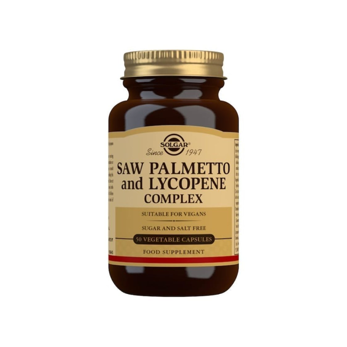 Solgar - Herbal Products - Saw Palmetto/Lycopene Complex - Size: 50