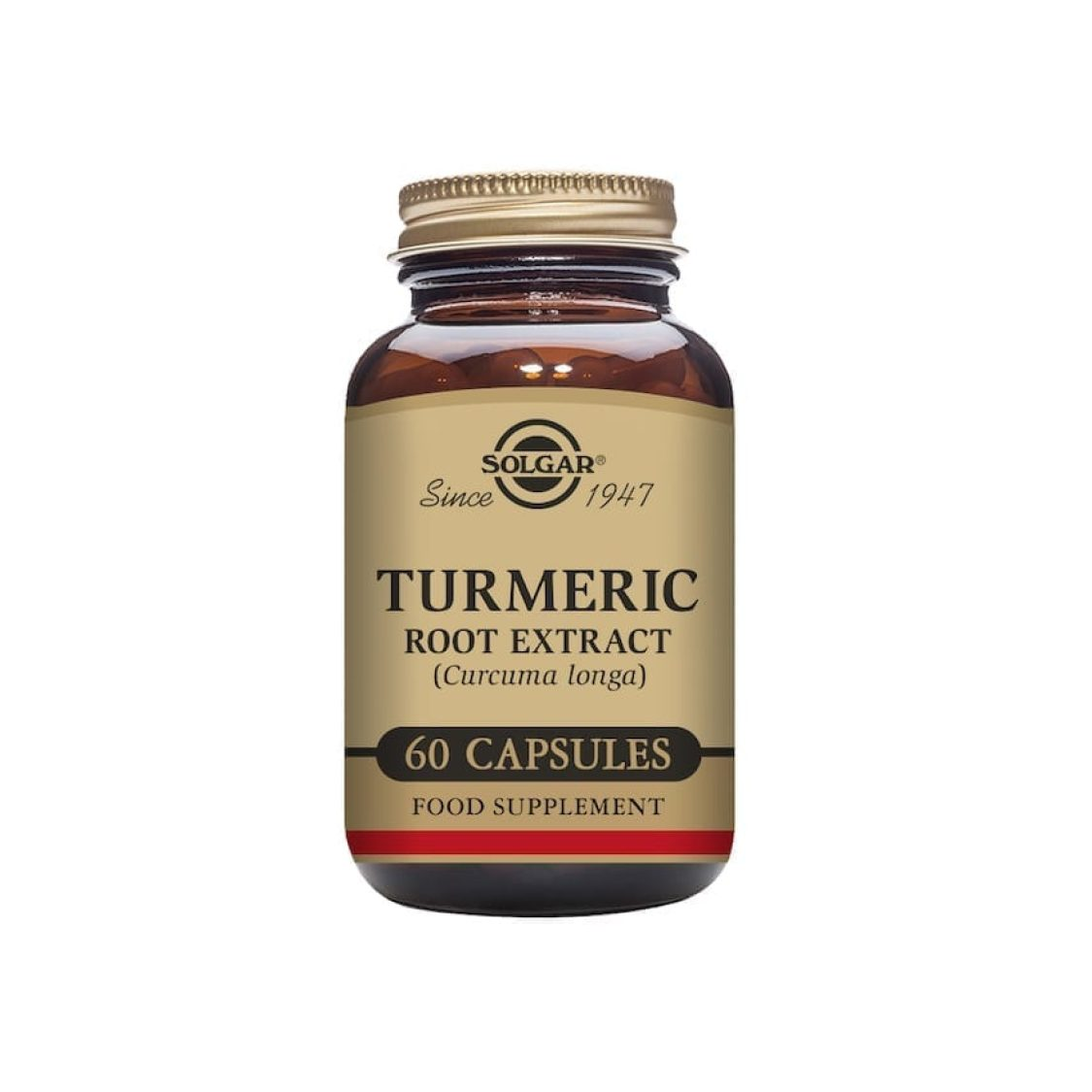 Solgar - Herbal Products - Turmeric Root Extract Vegicaps - Size: 60