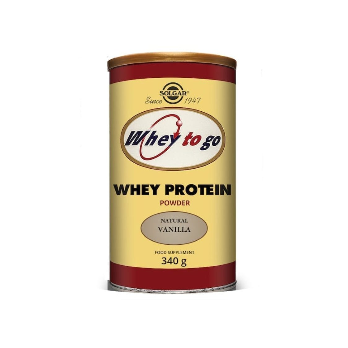 Solgar - Protein - Whey to Go Protein Powder (Choc) - Size: 454g