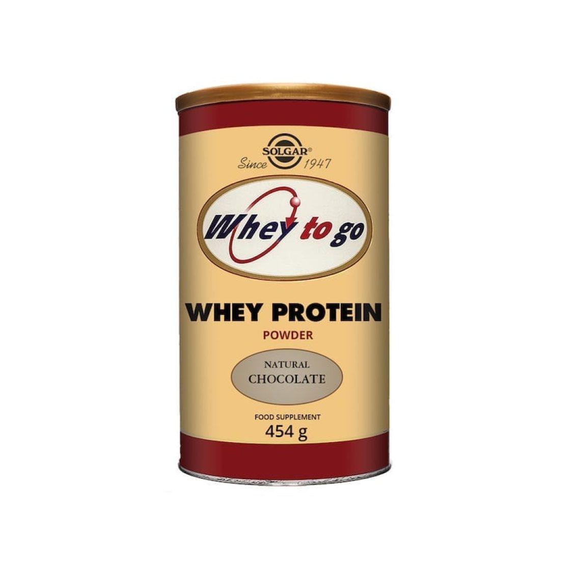 Solgar - Protein - Whey to Go Protein Powder (Van) - Size: 340g