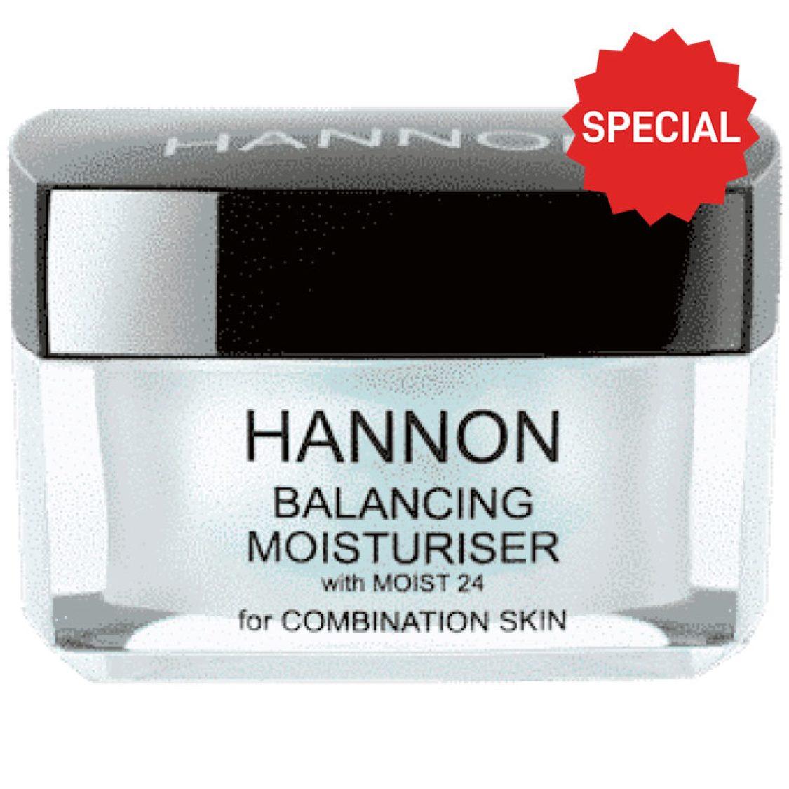 Hannon - Balancing Moisturiser (for Combination Skin) 50ml