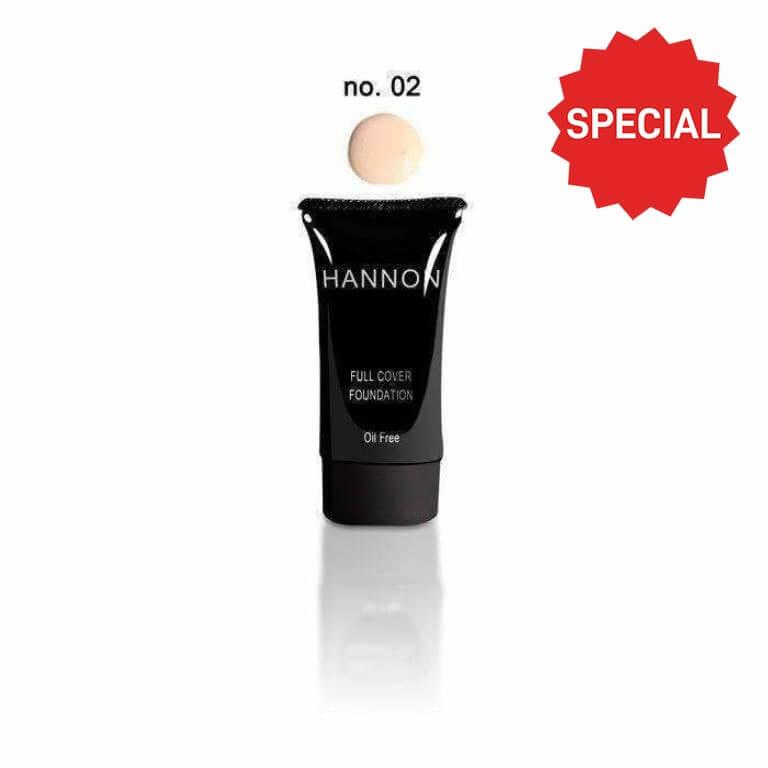 Hannon - Full Cover Liquid Foundation No.2