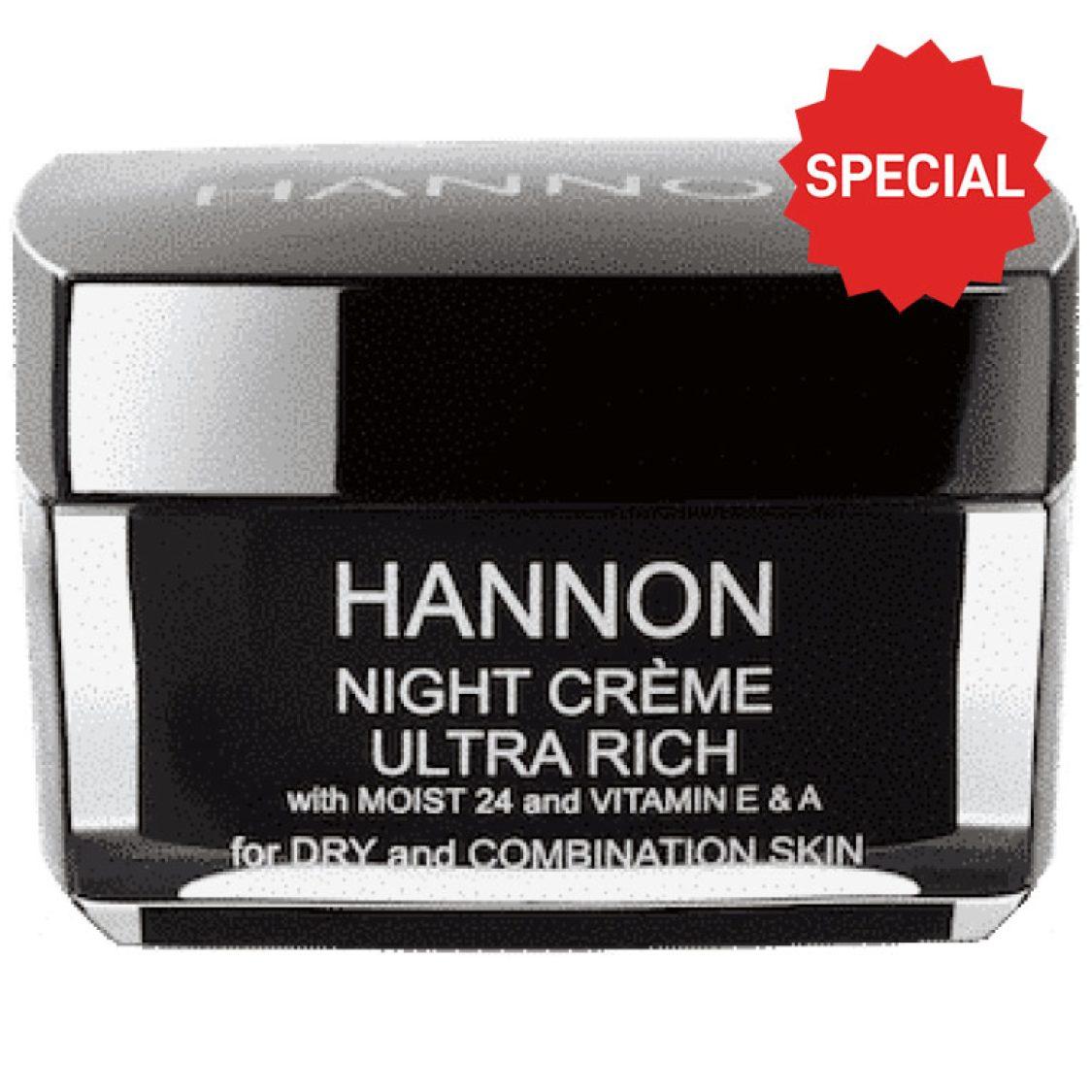 Hannon - Night Crème Ultra Rich 50ml