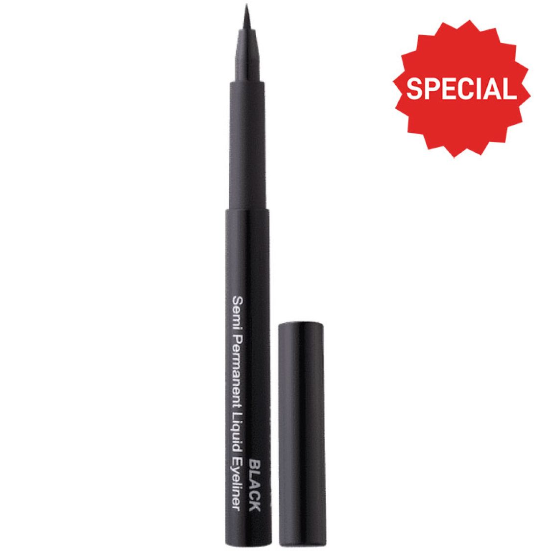 Hannon - Semi-Permanent Liquid Eyeliner - Black