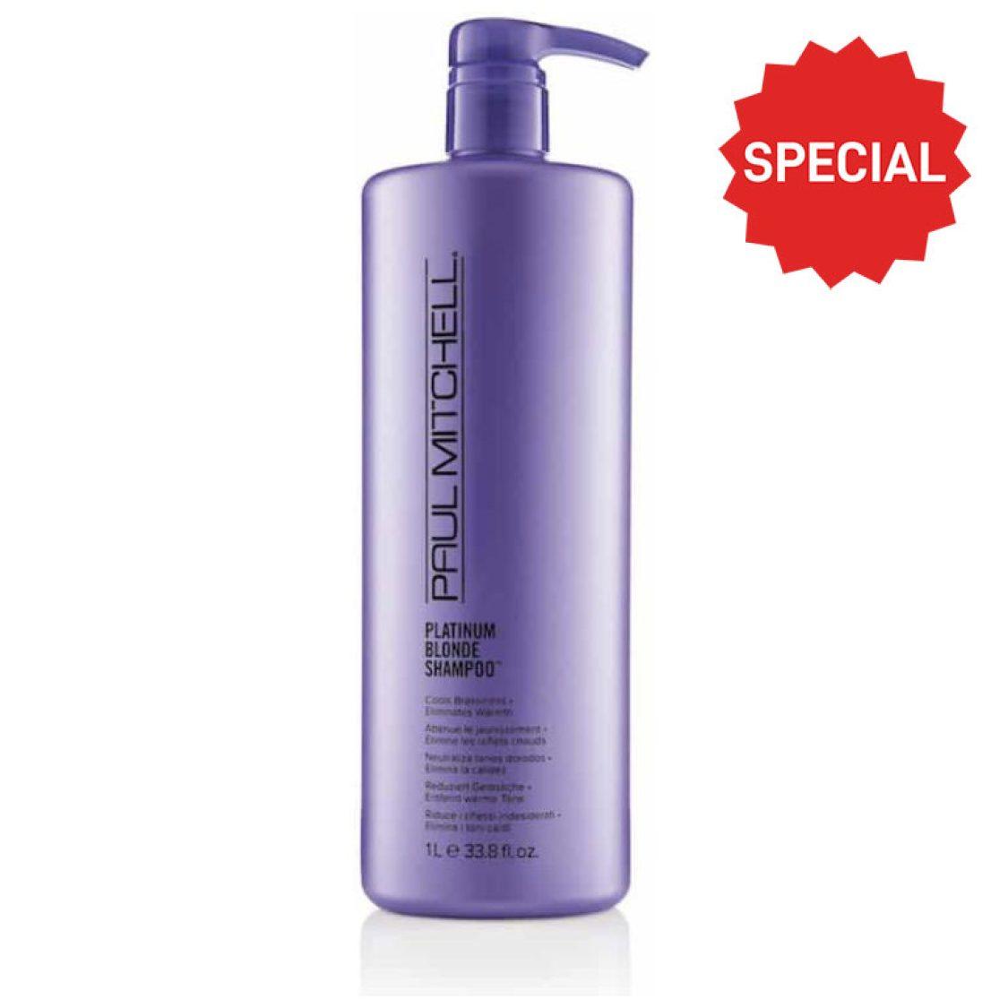 Paul Mitchell - Forever Blonde - Color Shampoo Platinum Blonde 1 Litre