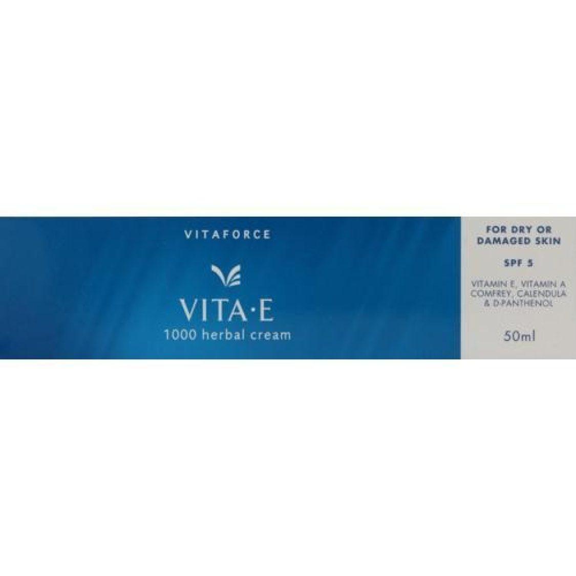 Vitaforce - Vita-E 1000 Herbal Cream 50ml