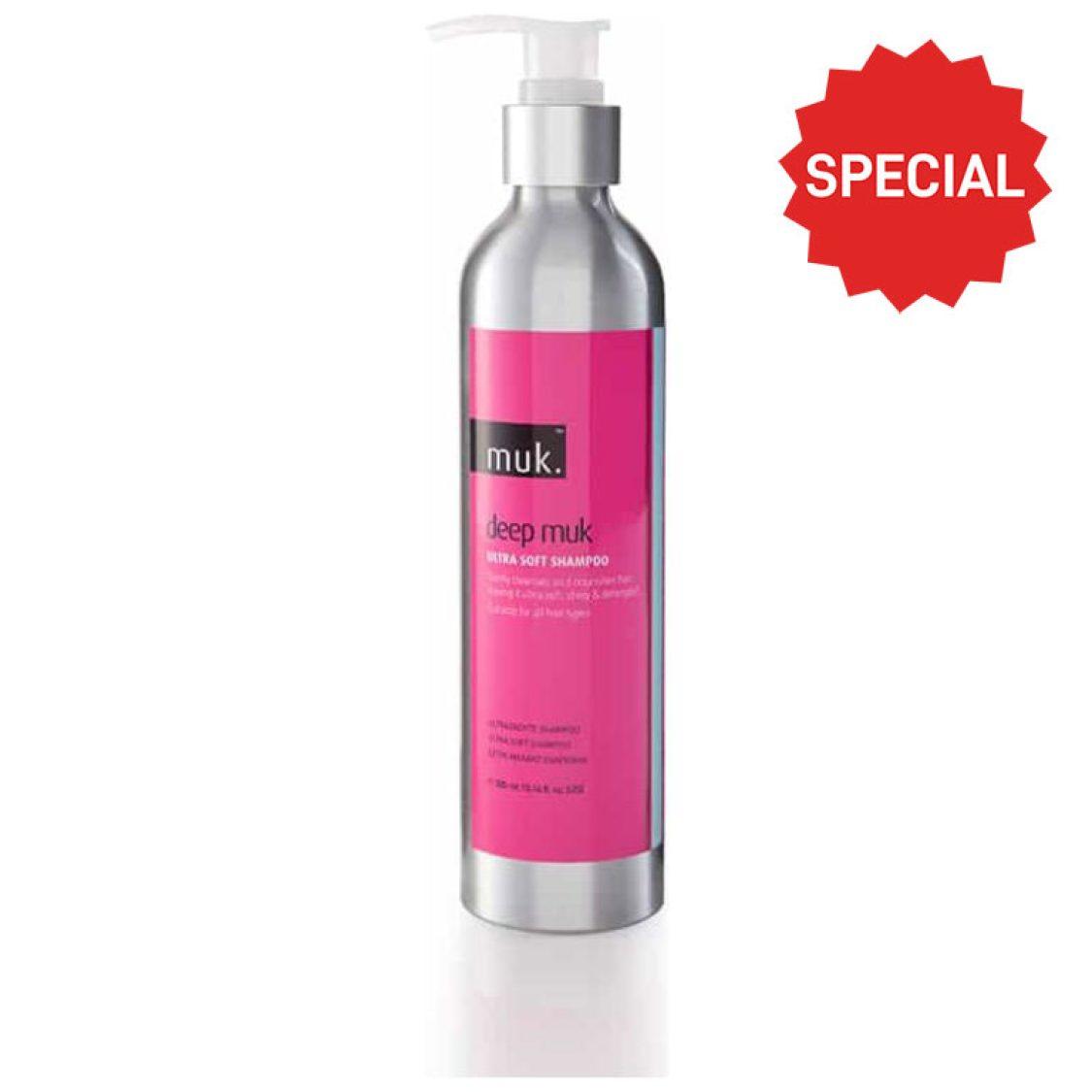 Muk - Haircare - Deep muk Ultra Soft Shampoo 300ml