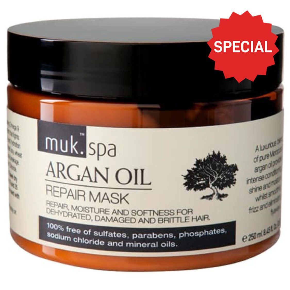 muk Spa Argan Oil Repair Mask 250ml