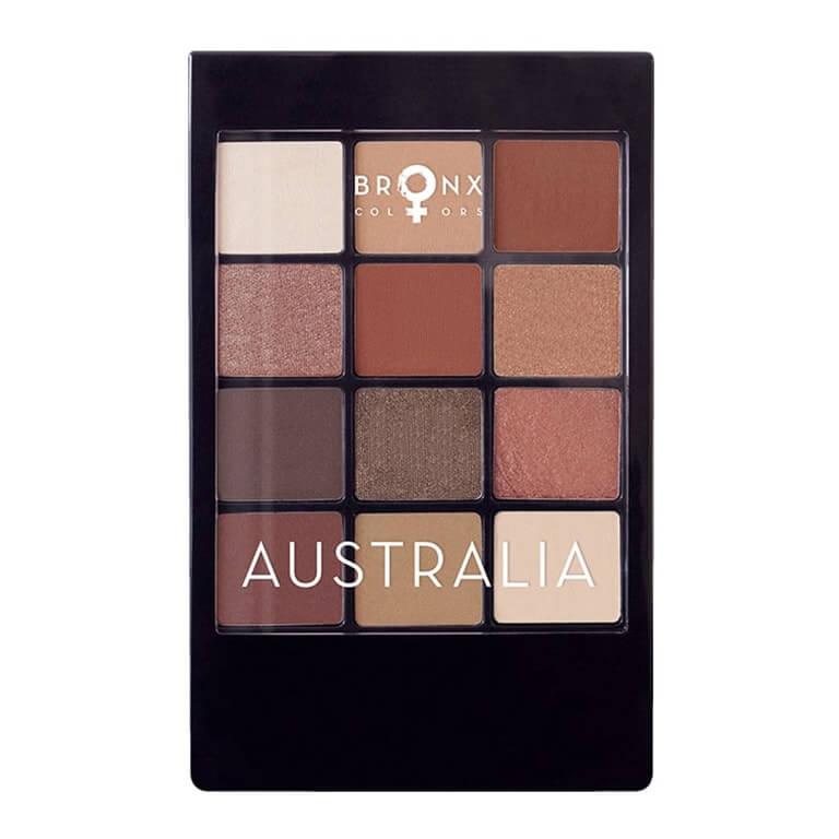 Bronx - 12 Colour Eyeshadow Palette - Australia