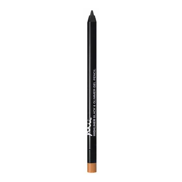 Mii Cosmetics - Highliner Black&Glimmer Gel Pencil - Gold