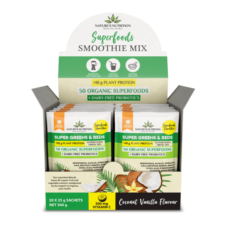 Nature's Nutrition - Coconut Vanilla 25g x 20