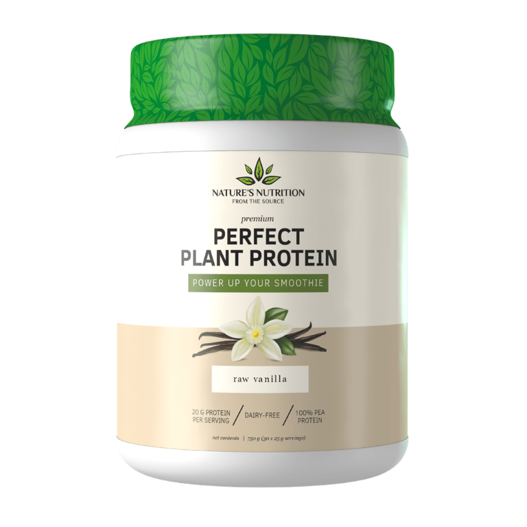 Nature's Nutrition - Perfect Plant Protein Raw Vanilla 750g