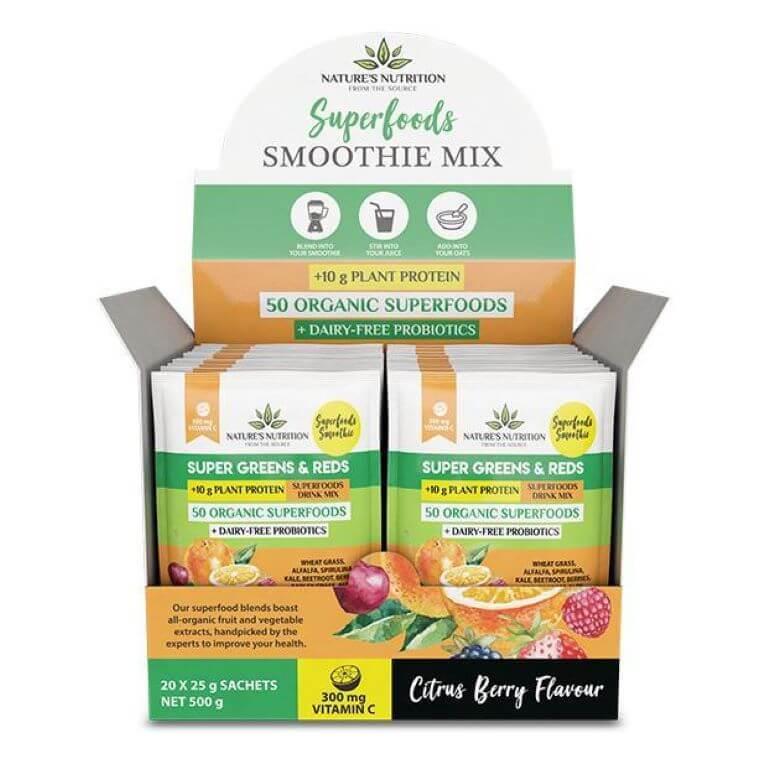 Nature's Nutrition - Citrus Berry 25g x 20