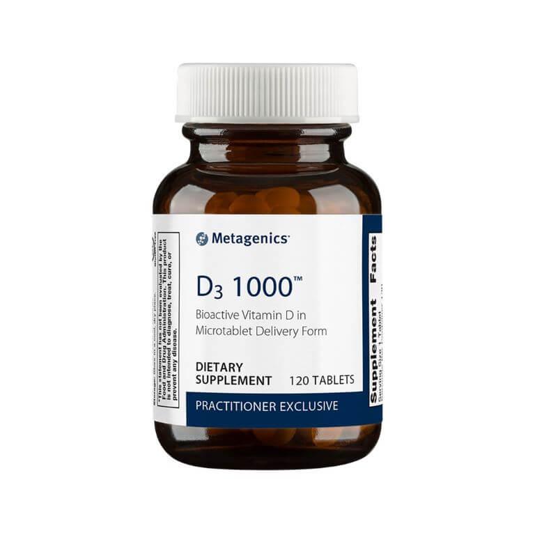 Metagenics - D3 1000 120T
