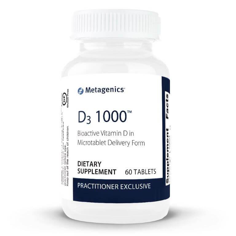 Metagenics - D3 1000 60T