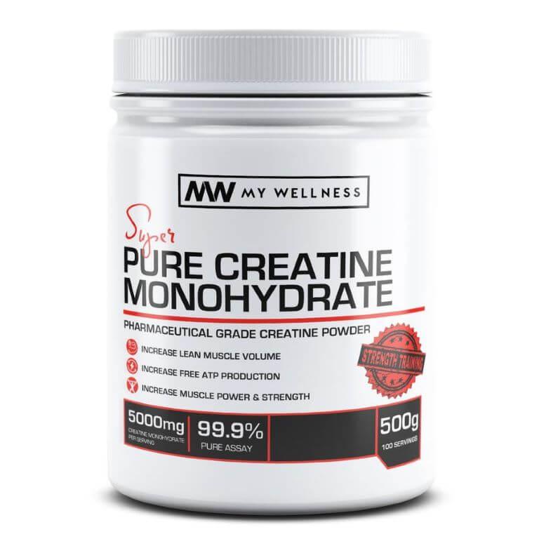 My Wellness - Creatine Monohydrate 500g Unflavoured
