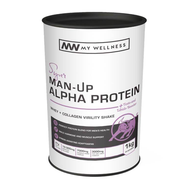 My Wellness - Man Up Alpha Protein 1kg Vanilla