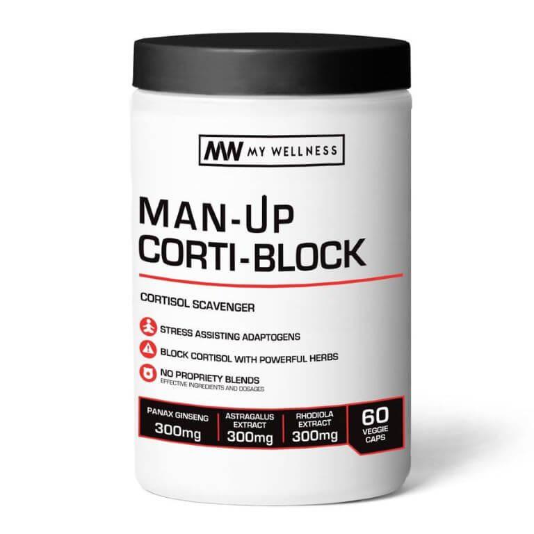 My Wellness - Man Up Corti Block 60 Caps
