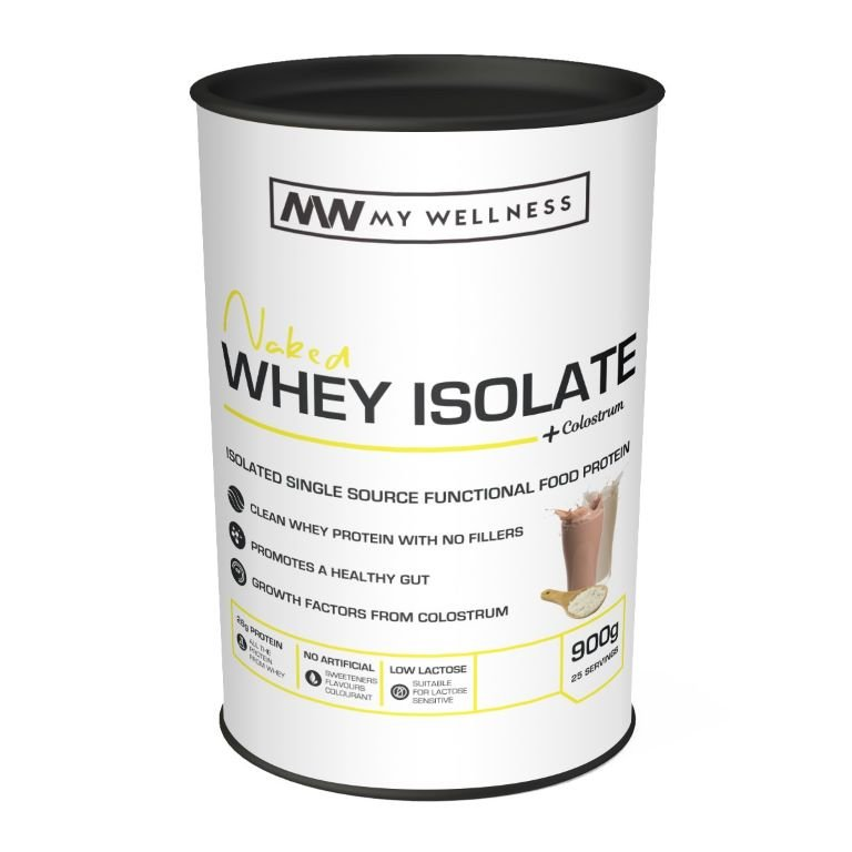 My Wellness - Naked Whey Isolate 900g Unflavoured