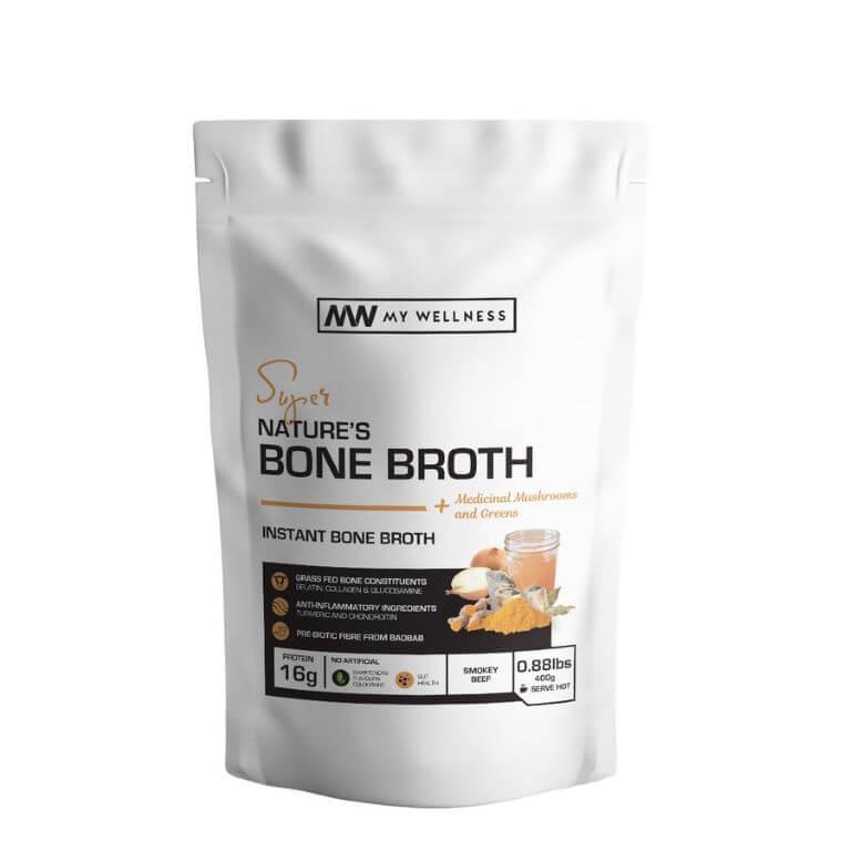 My Wellness - Natures Bone Broth 400g Smoked Beef