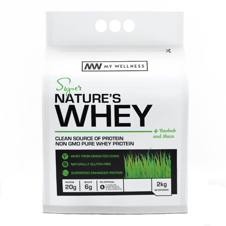 My Wellness - Natures Whey 3kg Chocolate