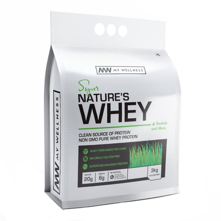 My Wellness - Natures Whey 3kg Creamy Indian Chai