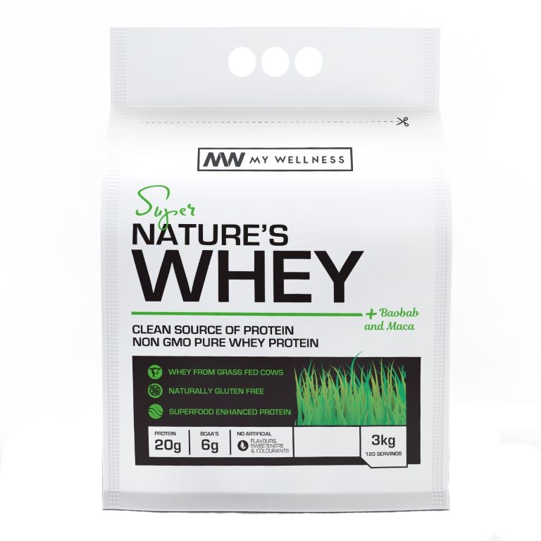 My Wellness - Natures Whey 3kg Unflavoured