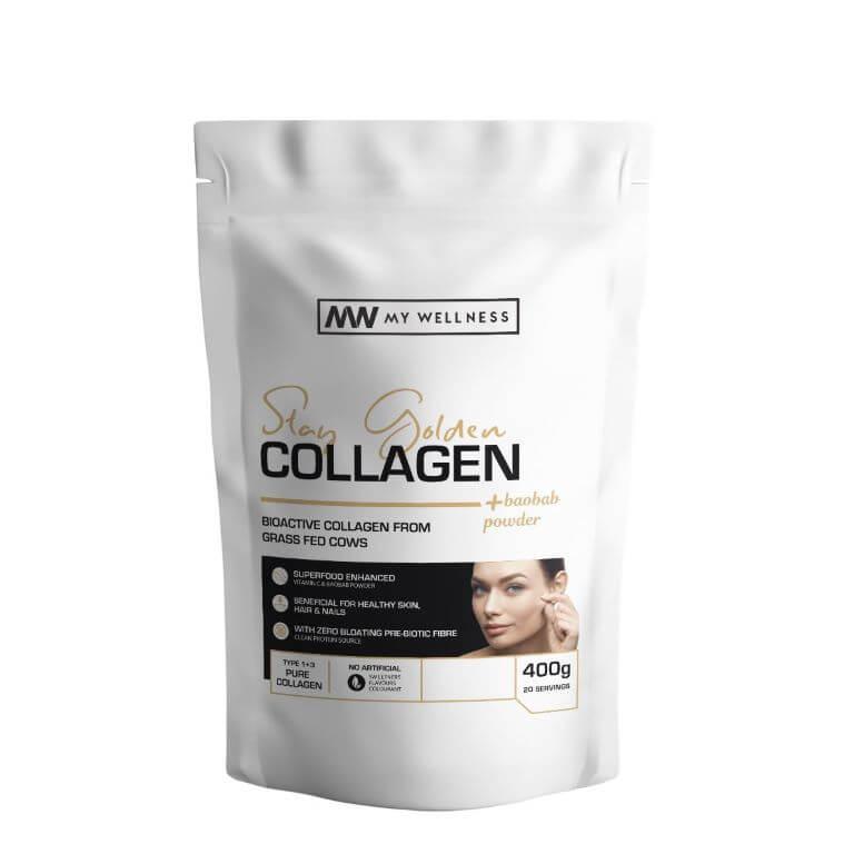 My Wellness - Super Collagen 400g Real Matcha