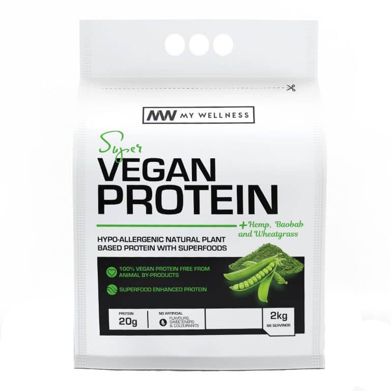 My Wellness - Super Vegan Protein 2kg - Chocolate
