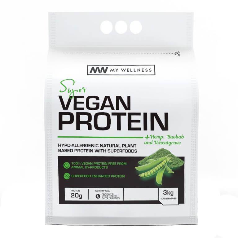 My Wellness - Super Vegan Protein 3kg - Unflavoured
