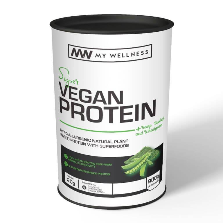 My Wellness - Super Vegan Protein 900g - Creamy Indian Chai