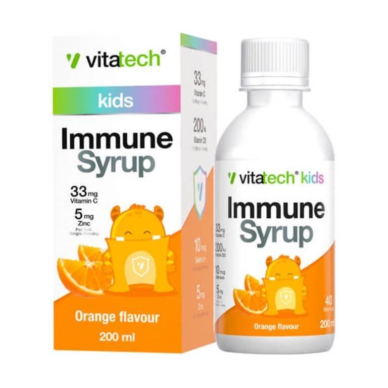 Vitatech - Kids Immune Syrup - Orange 200ml