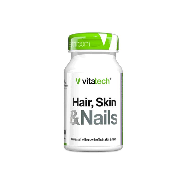 Vitatech - Hair, Skin & Nails 30 Tablets
