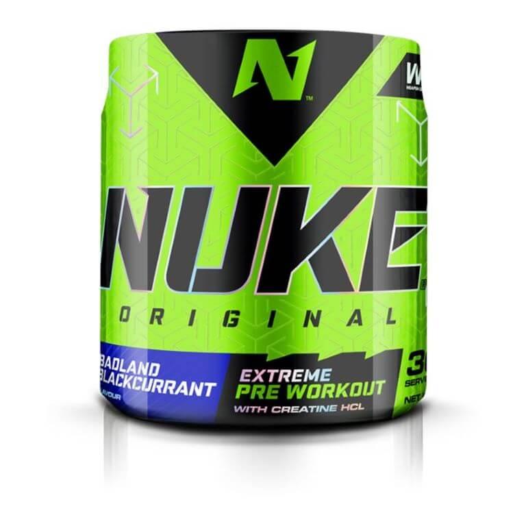 Nutritech - Nuke Original - Badland Blackcurrent 240g