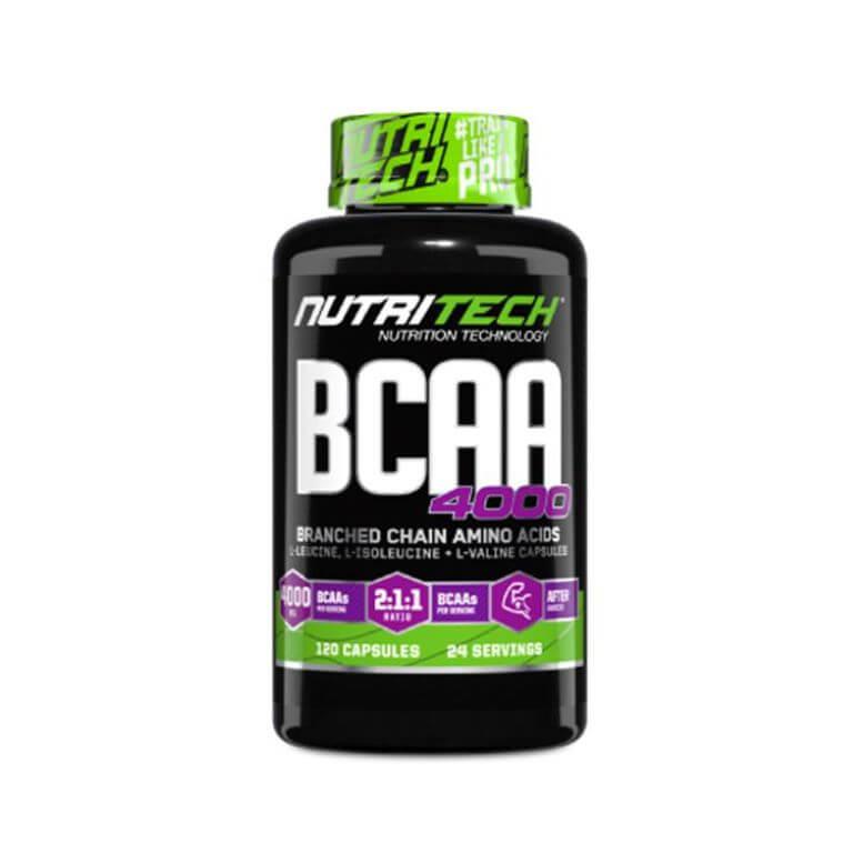 Nutritech - BCAA 4000 - Capsules 100g