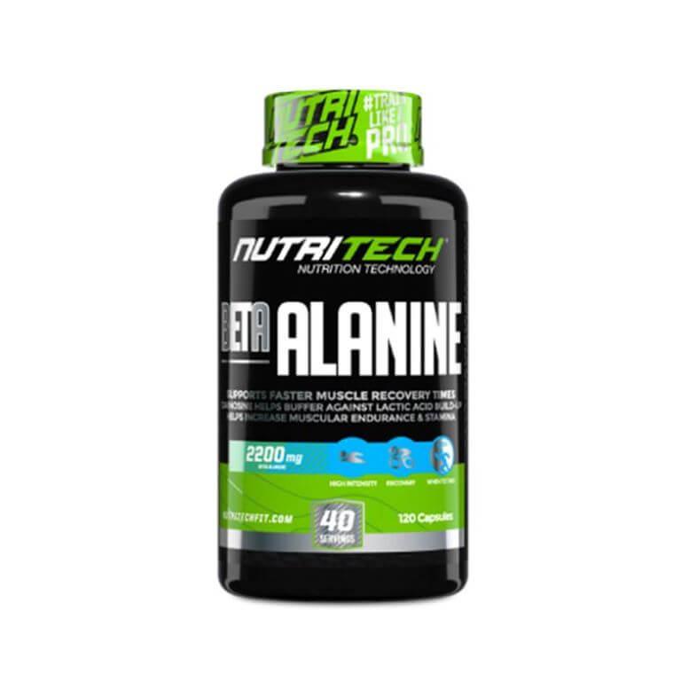 Nutritech - Beta-Alanine - Capsules 100g