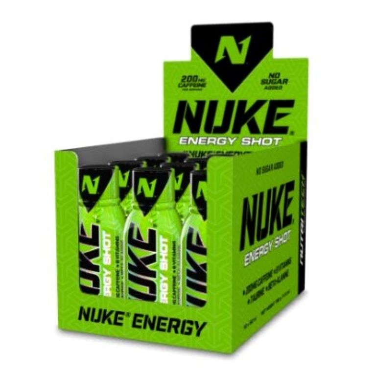 Nutritech - Nuke Energy Shot - Candy Cruise 12 X 60ml
