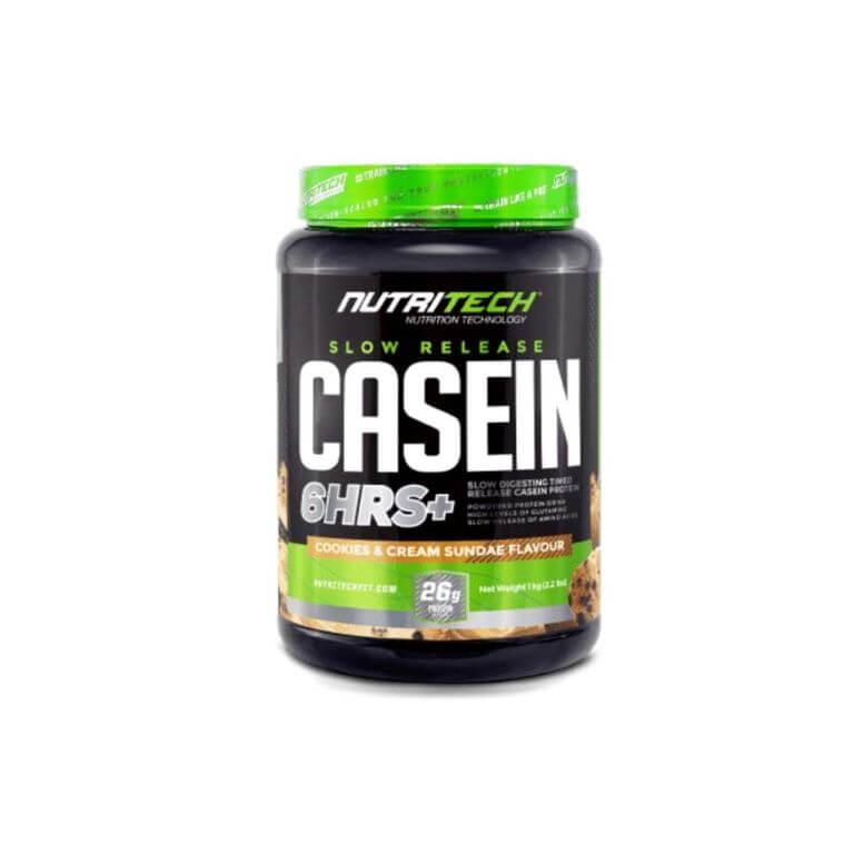 Nutritech - Casein Slow Release - Cookies & Cream Sundae 1Kg